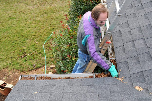 gutter and roof inspection