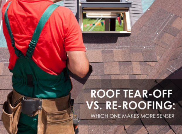 Roof Tear-Off vs. Re-Roofing